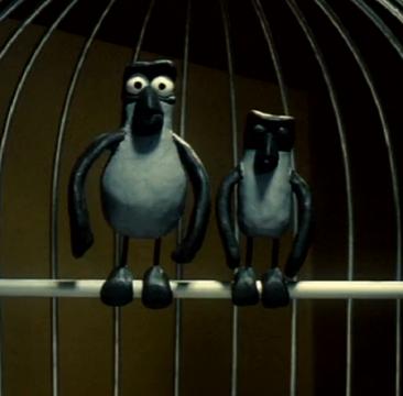 Les oiseaux en cage ne peuvent pas voler